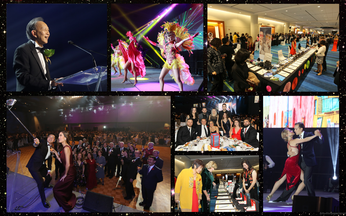 Cathay Ball 2018 Collage