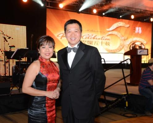Master of Ceremonies -Pauline Chan and Castro Liu